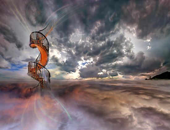 I guess we should call it stairway to heaven, you think? by Hal Smith