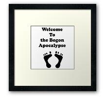 Iskybibblle Products/ Bogon Apocalypse Framed Print