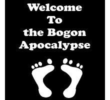 Iskybibblle Products/Bogon Apocalypse White Photographic Print