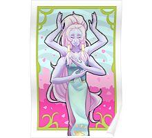 Opal Nouveau Poster