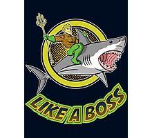Aquaman: like a boss Photographic Print