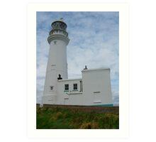 Flamborough Lighthouse, East Yorkshire, England Art Print