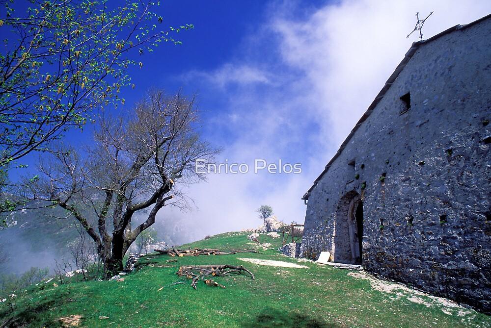 ALONG LIGURIA PILGRIM WAYs S Pietrino church by Enrico Pelos