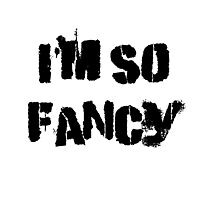 Iskybibblle Products/ I'm so fancy Photographic Print