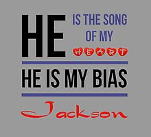 HE IS MY BIAS JACKSON - Grey by Kpop Love