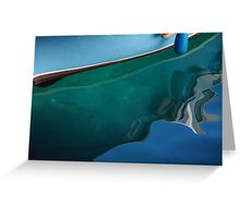 Adriatic Blues Greeting Card