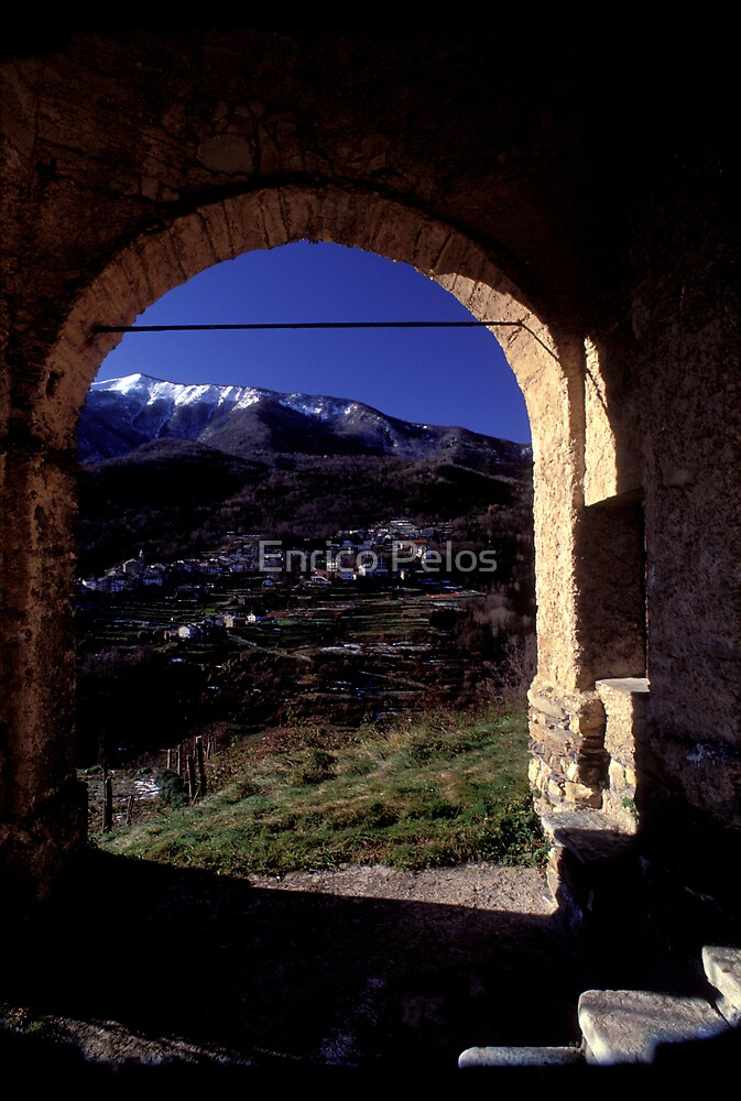 LIGURIA LANDSCAPES Mendatica mountain by Enrico Pelos