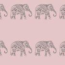 Elephants on Parade by Kristina Gale