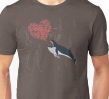 Love Krill - Humpback Whale Unisex T-Shirt