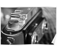 Old stereo camera Poster