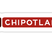 Chipotlaid Sticker