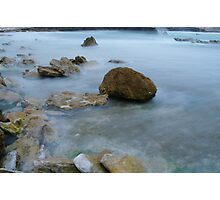 Rocks in the Clouds Photographic Print