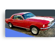 Mustang! Canvas Print
