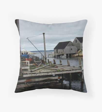 Peggy's Cove Beauty Throw Pillow
