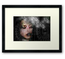 LOVER OF LACE Framed Print