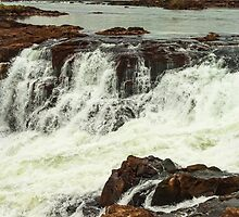 Iguazu Falls - Over the Edge 3 by photograham