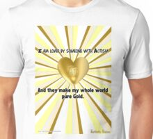Our Love is Pure Gold Unisex T-Shirt