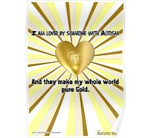Our Love is Pure Gold Poster