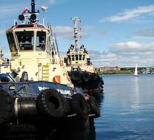 Halifax Tugs by Al Bourassa
