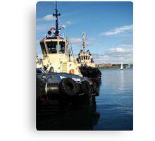 Halifax Tugs Canvas Print