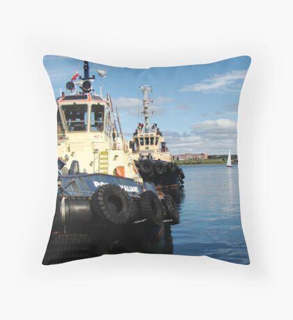 Halifax Tugs Throw Pillow