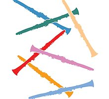 Colorful Clarinets by zenguin