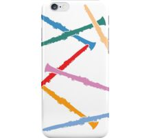 Colorful Clarinets iPhone Case/Skin