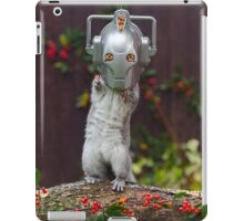Cyber Squirrel! Be FURRY afraid Doctor Who iPad Case/Skin
