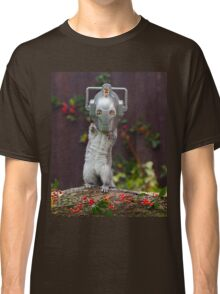 Cyber Squirrel! Be FURRY afraid Doctor Who Classic T-Shirt