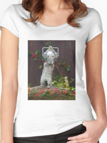 Cyber Squirrel! Women's Fitted Scoop T-Shirt