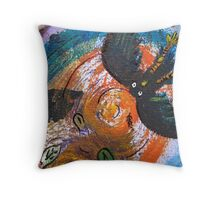 Caught Out On A Windy Day Section 3 by Heather Holland  Throw Pillow