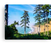 Agate Beach, Patricks Point State Park, Humboldt County, California Canvas Print