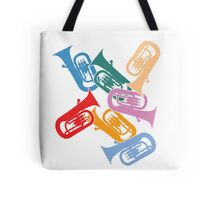 Colorful Euphoniums Tote Bag