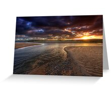 The River at Sunrise Greeting Card