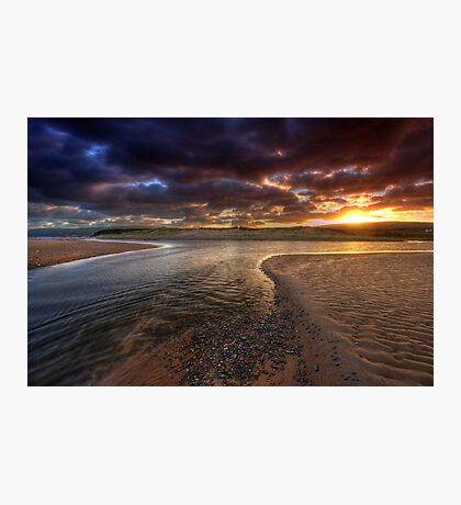 The River at Sunrise Photographic Print