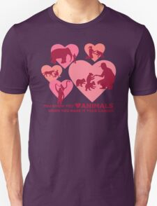 Love Animals - Land Animal Career T-Shirt