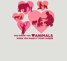 Love Animals - Land Animal Career Unisex T-Shirt