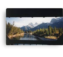 Three Sisters Mountain Canvas Print
