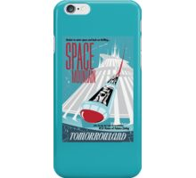 Space Mountain Attraction Poster iPhone Case/Skin