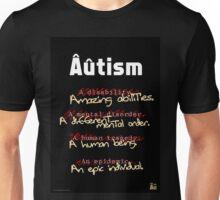 Autism - A Corrected List Unisex T-Shirt