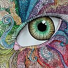 Zentangle Eye by Maddy Storm