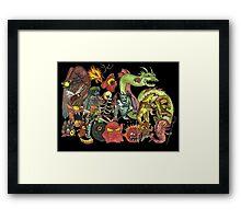 My Imaginary Friends Framed Print