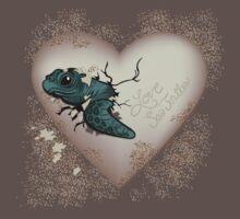 Love Sea Turtles - Egg Heart Baby Tee