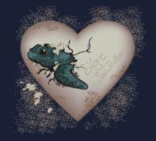 Love Sea Turtles - Egg Heart Kids Tee