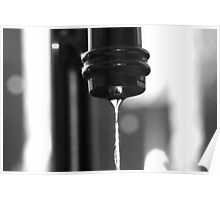 Water BW Poster