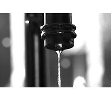 Water BW Photographic Print