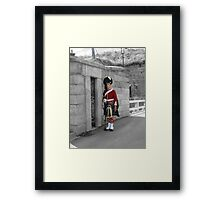 We Stand On Guard For Thee Framed Print