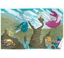 Spot all Five Flappadons Poster