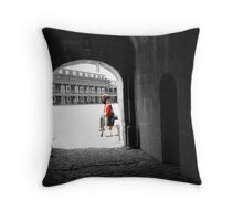We Stand On Guard For Thee II Throw Pillow