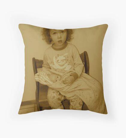 Waif Throw Pillow